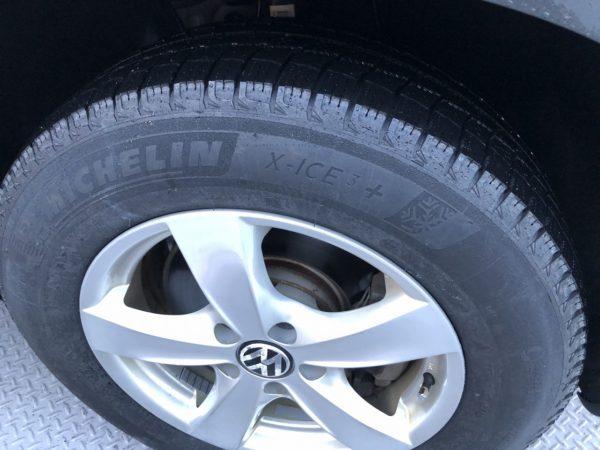 コストコCOSTCO北海道_コストコタイヤセンター_スタッドレスタイヤ効果したレクベンのティグアンタイヤ